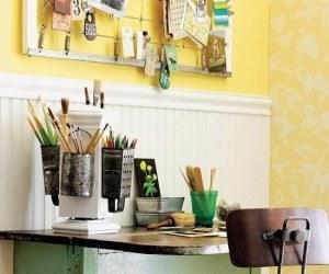 DIY| Hazlo tu mismo, mesa-repisa para espacios reducidos