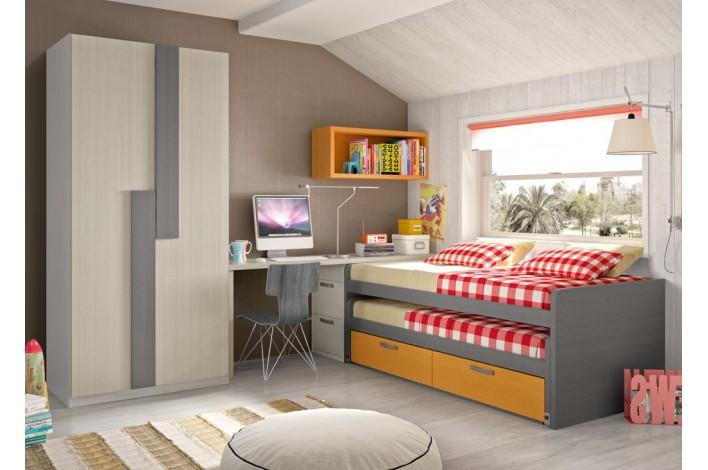 Muebles dormitorio juvenil conforama 20170718190606 - Muebles rey dormitorios juveniles ...