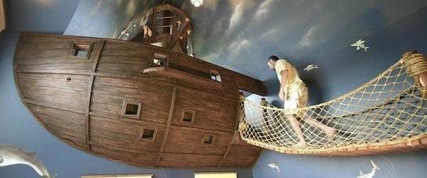 Dormitorio pirata