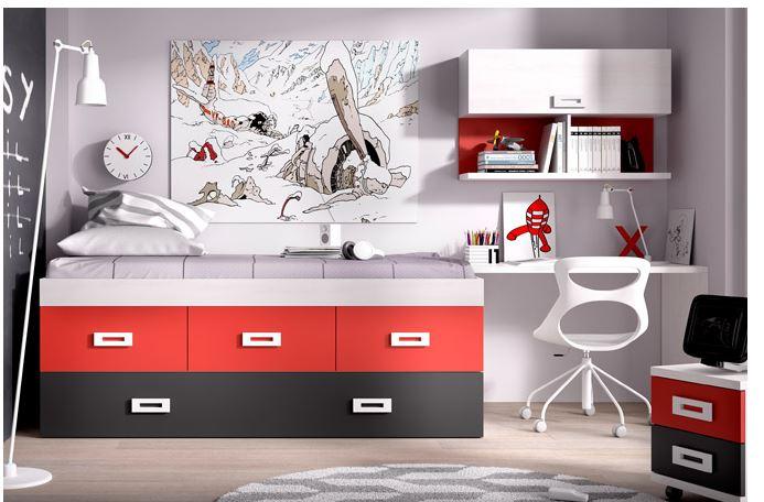 Kinderbett Mit Gästebett Ikea ~ Catálogos de dormitorios juveniles gratis  BlogDecoraciones