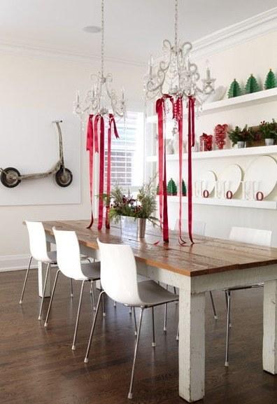decoracion de lámparas para Navidad