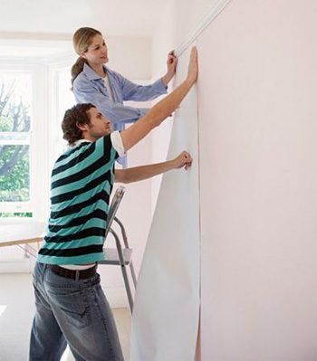 Empapelado de paredes blogdecoraciones for Papel de empapelar paredes