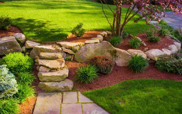 Escalera rustica piedra
