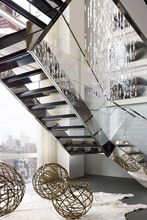 Acero inoxidable y vidrio