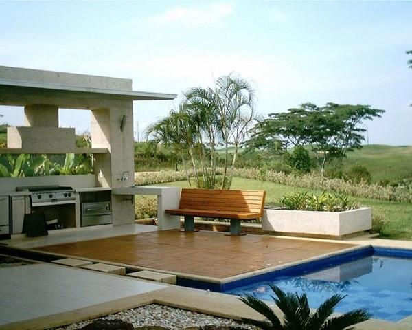 Casas y hogar dise o de exteriores for Diseno jardines exteriores casa
