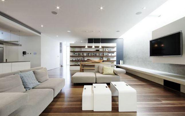 Ideas de decoraci n para el hogar estilo actual o - Salones con estilo moderno ...