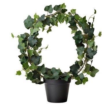 Plantas artificiales de Ikea - hiedra