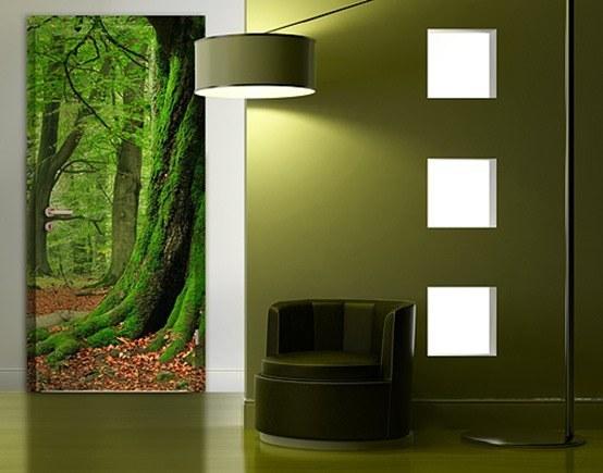 Fotomurales para puertas blogdecoraciones - Fotomurales para banos ...