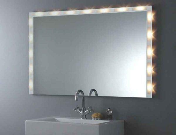 opcin muy interesante porque no tenemos que por ms iluminacin con la que emite el espejo es suficiente para iluminar un espacio o bao