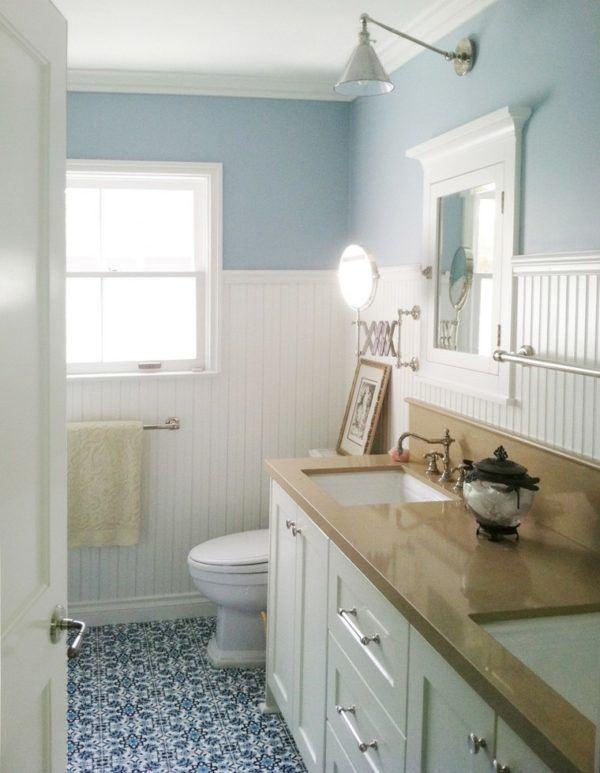 Ba os peque os como ganar espacio blogdecoraciones - Azulejos para aseos pequenos ...