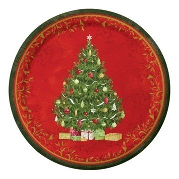 Centro de mesa de Navidad fácil y rápido