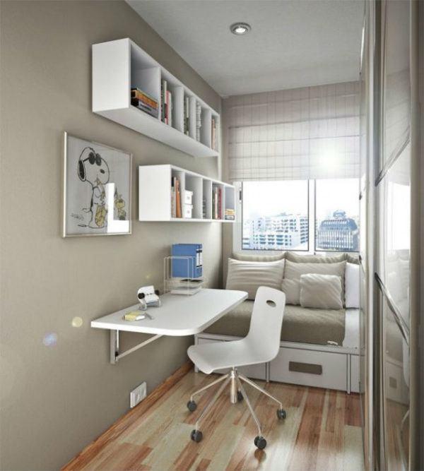 C mo decorar habitaciones juveniles baratas y peque as - Decorar habitaciones juveniles pequenas ...