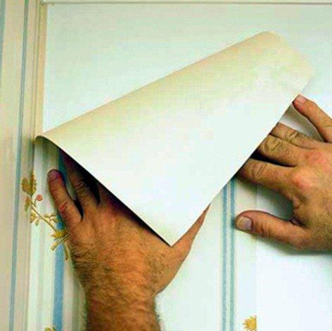C mo poner papel pintado blogdecoraciones - Poner papel pintado sobre gotele ...