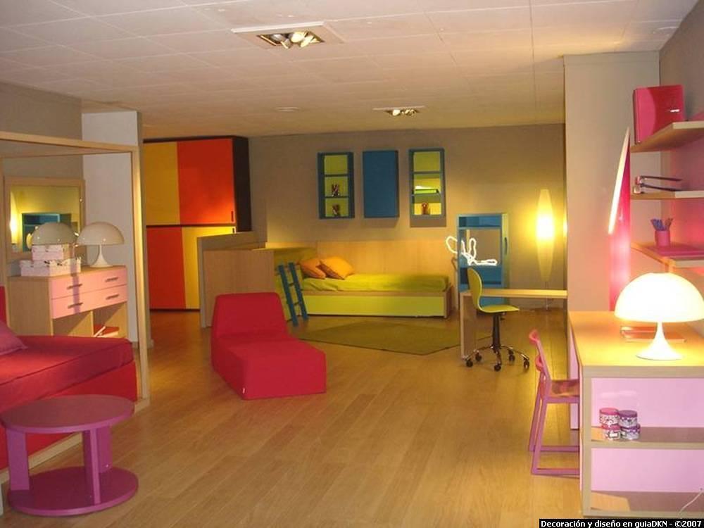 Iluminaci n de un dormitorio infantil blogdecoraciones - Iluminacion habitacion juvenil ...