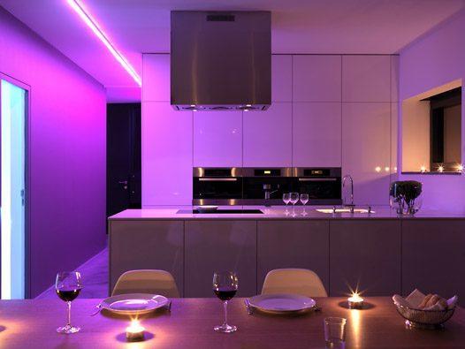 Iluminaci n led blogdecoraciones for Decoracion de iluminacion interior
