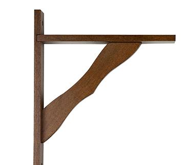 Diy hazlo tu mismo mesa repisa para espacios reducidos - Baldas decorativas pared ...