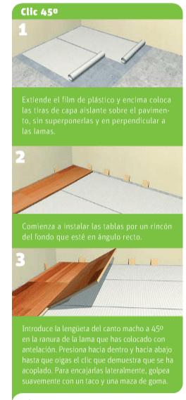 Cómo colocar tarima flotante en nuestro piso