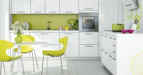 Cat logo cocinas schmidt blogdecoraciones - Cocinas verdes y blancas ...