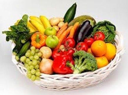 decorar con vegetales