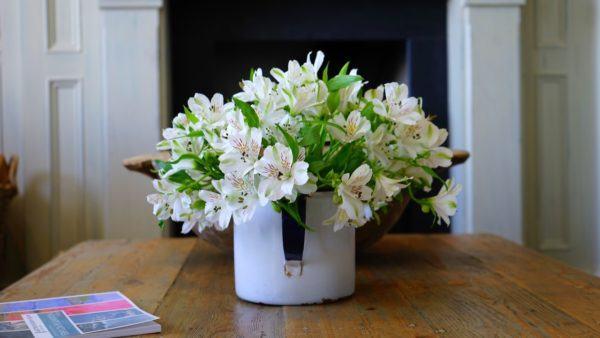 Como Decorar Con Jarrones Con Flores Ideas Y Consejos - Jarrones-con-flores-secas