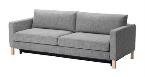 Los sofás cama de Ikea