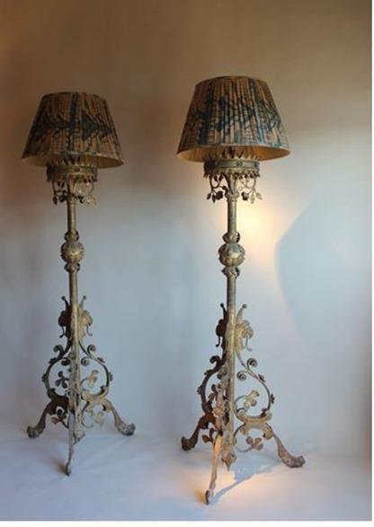 L mparas estilo vintage fotos blogdecoraciones - Lampara de pie vintage ...