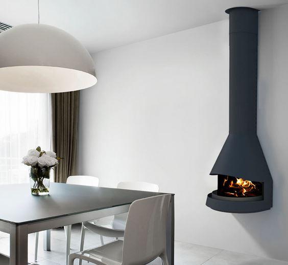 Hogarisimo las mejores estufas y chimeneas - Chimeneas de obra sin humo ...