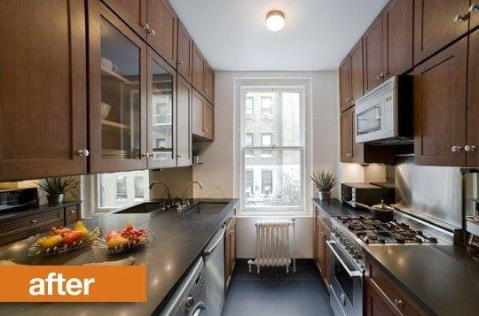 Cocinas antes y despu s blogdecoraciones for Cocinas en paralelo