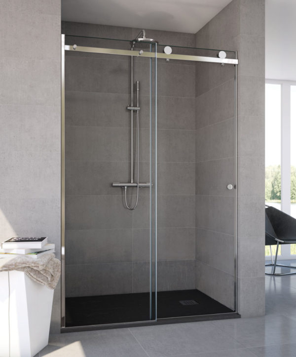 C mo escoger la mampara de ducha adecuada a tu ba o - Como limpiar la mampara del bano ...