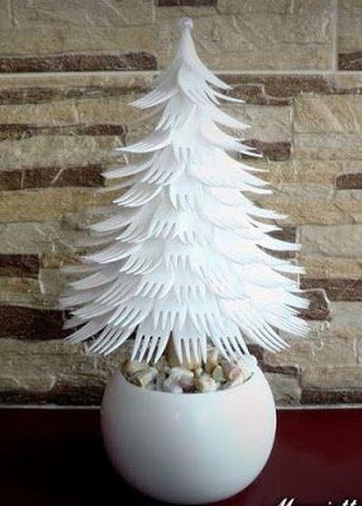 manualidades-para-decorar-tu-cuarto-en-navidad-tenedores-desechables-pinterest-massideas