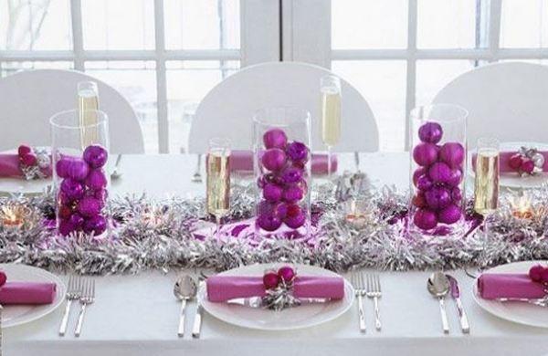 Buenas ideas para mesas de navidad blogdecoraciones - Decoracion mesa navidad ...