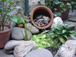 construir un mini estanque blogdecoraciones