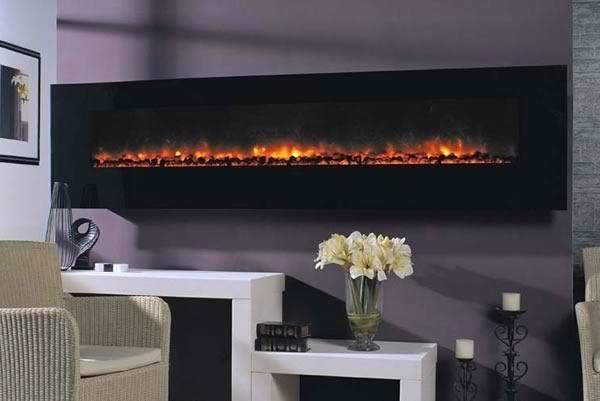 Modern flames ambiance 95 blogdecoraciones - Chimeneas electricas modernas ...