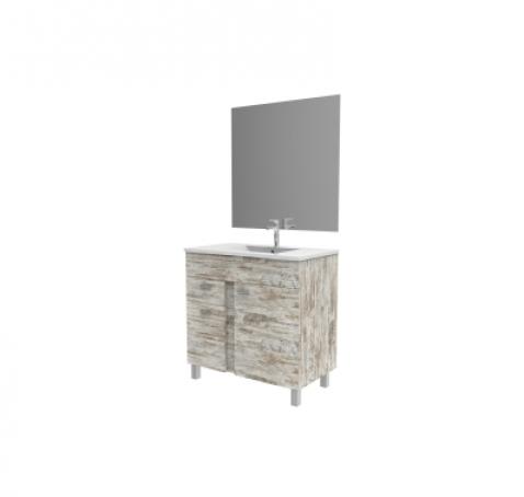 Lavabos bricomart stunning instalacin de una puerta for Muebles bano bricomart