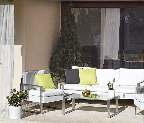 Tipos de muebles de jard n blogdecoraciones for Muebles de aluminio para jardin