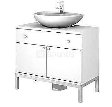 Muebles para lavabos con pedestal blogdecoraciones for Mueble auxiliar bano bajo lavabo