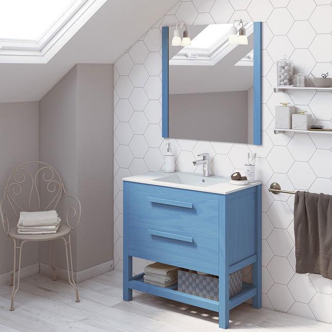 muebles para lavabos con pedestal On muebles lavabo leroy merlin