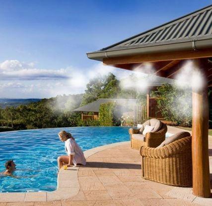 Nebulizadores de agua para terrazas