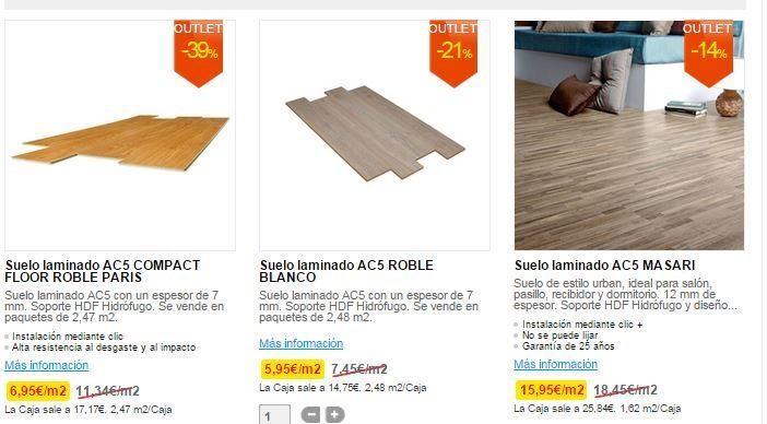 Outlet leroy merlin las mejores ofertas blogdecoraciones for Oferta suelo laminado