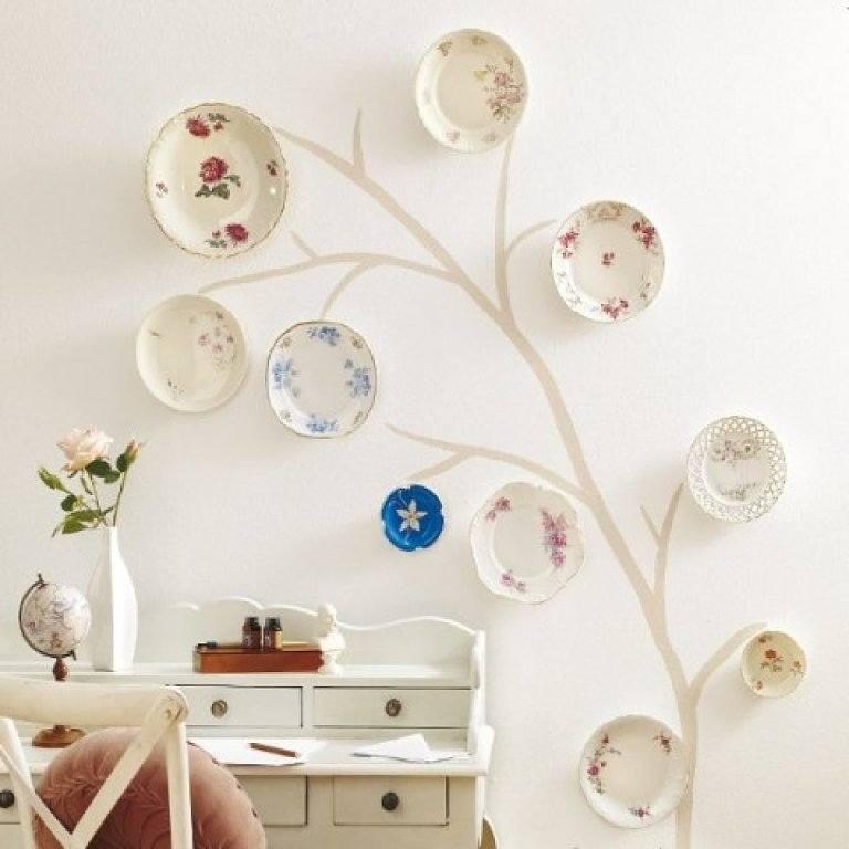 tambin podemos escoger un conjunto de platos para decorar una pared un pasillo o un rincn su forma o simplemente jugar con