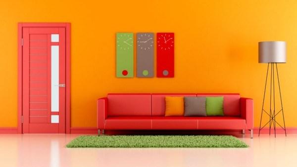 Ideas para pintar las paredes de colores vivos