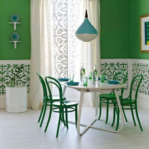 Ideas para pintar las paredes de colores vivos - BlogDecoraciones