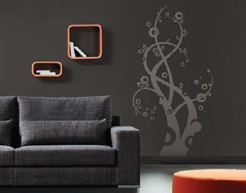 Ideas para pintar las paredes de colores vivos for Paredes moradas decoradas