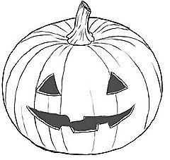 Corona de Halloween fácil