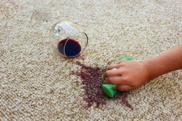 Quitar mancha vino