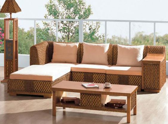 Tipos de muebles de jard n blogdecoraciones for Sofa exterior reciclado