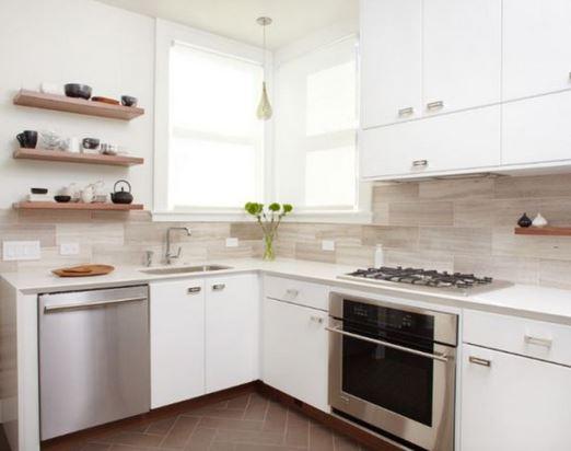 repisas-de-madera-flotante-cocina