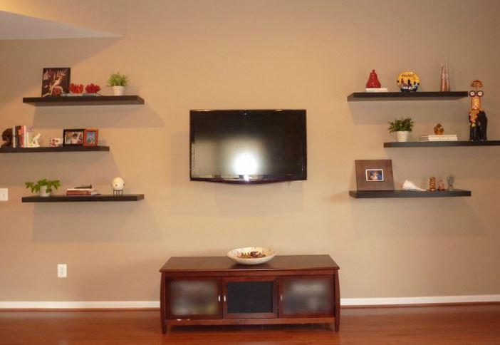 C mo hacer repisas de madera flotantes blogdecoraciones - Como hacer estantes de madera ...