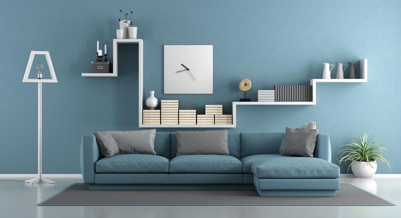 C mo hacer repisas de madera flotantes blogdecoraciones - Wall design for living room philippines ...
