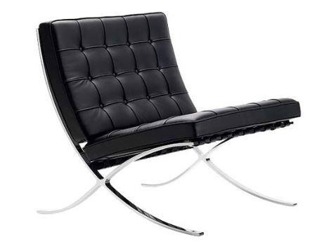 Estilo Bauhaus silla-barcelona